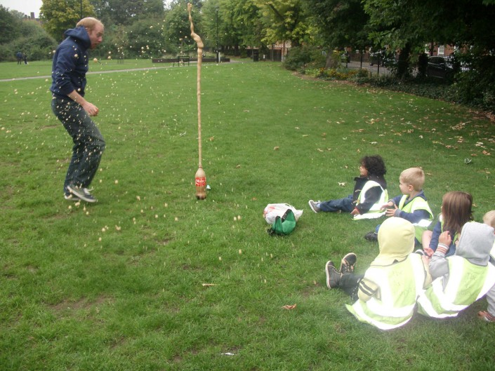 Science Experiment in the Park