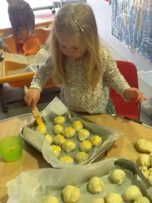 Making Rolls for Tea