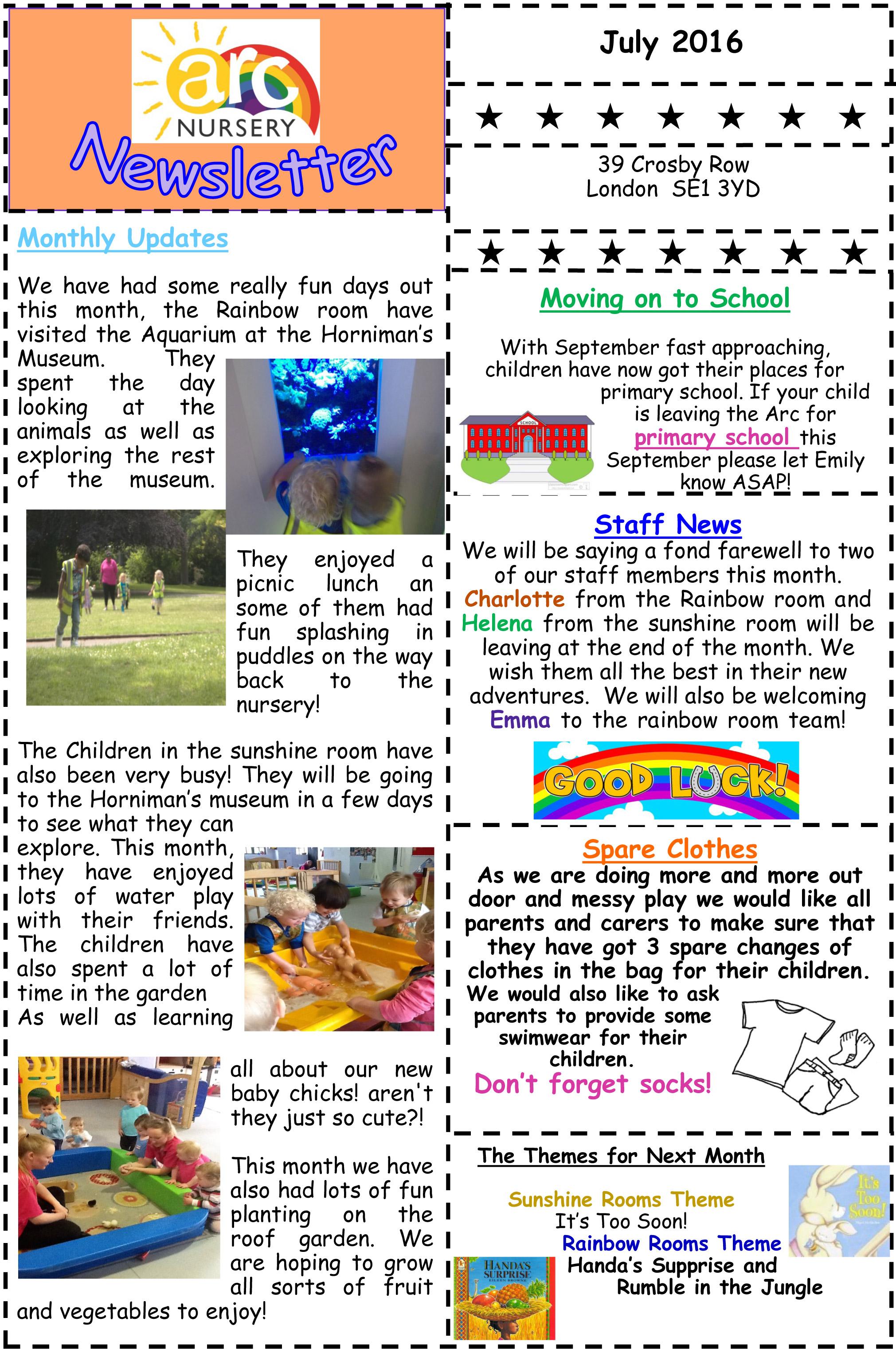 july2016 newsletter