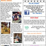 Arc Nursery April 2017 Newsletter