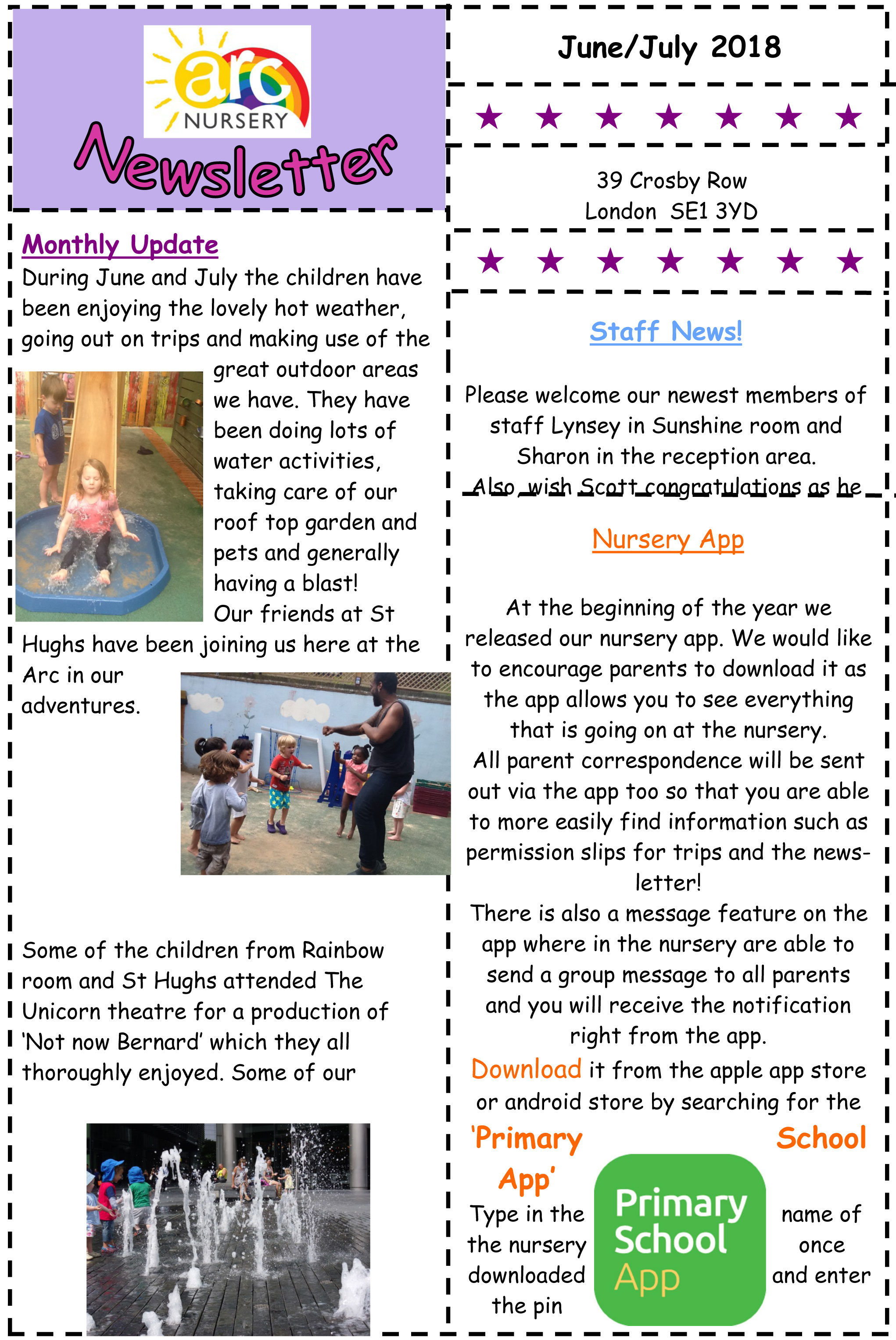 the arc nursery blog posts news downloadable pdf newsletters