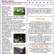 Arc Nursery December 2018 Newsletter